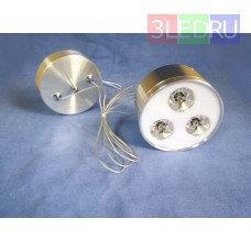 Подвесной светодиодный светильник LED-8903-3 Silver