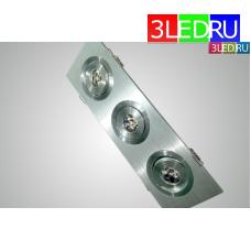 Встраиваемый светильник LED-CL-L613-WW